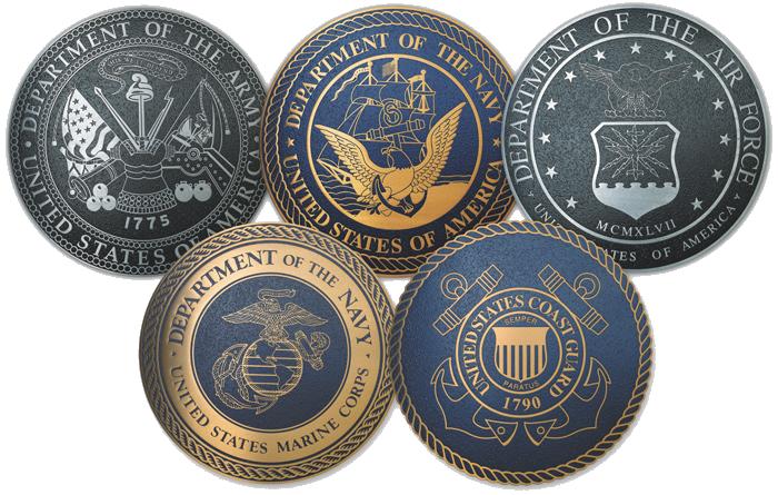 Military Logos Group 4 - 700 x 445