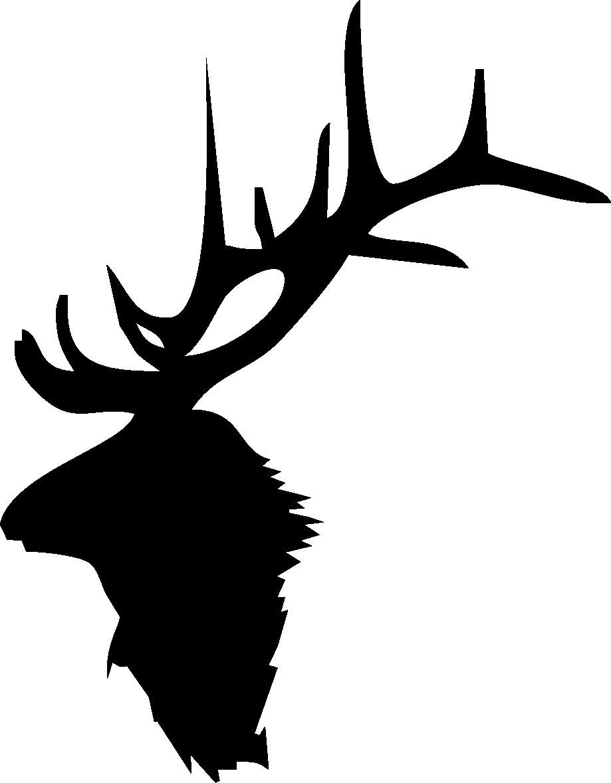 Elk Head Silhouette 2 919 x 1179 .png