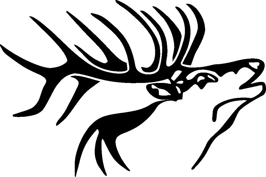 elk-head-silhouette-3