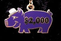 CHEMPI Purple Pig Pin 2,000