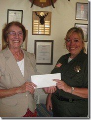 29 Palms Elks Donation