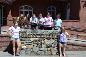Sarah McCormick and ASL Kids Day at Grass Valley Elks Lodge No. 538