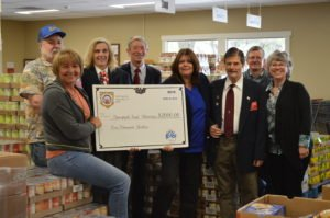 Grass Valley Elks Lodge No. 538 Donates to Food Ministry