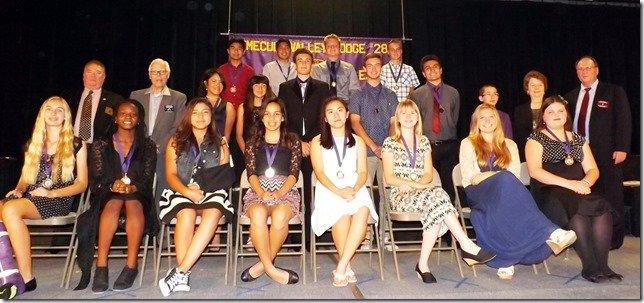 Murrieta Students of Year Runners-up