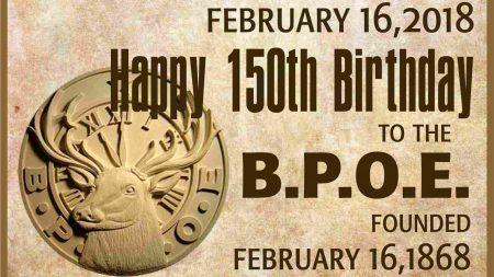 BPOE Happy Birthday